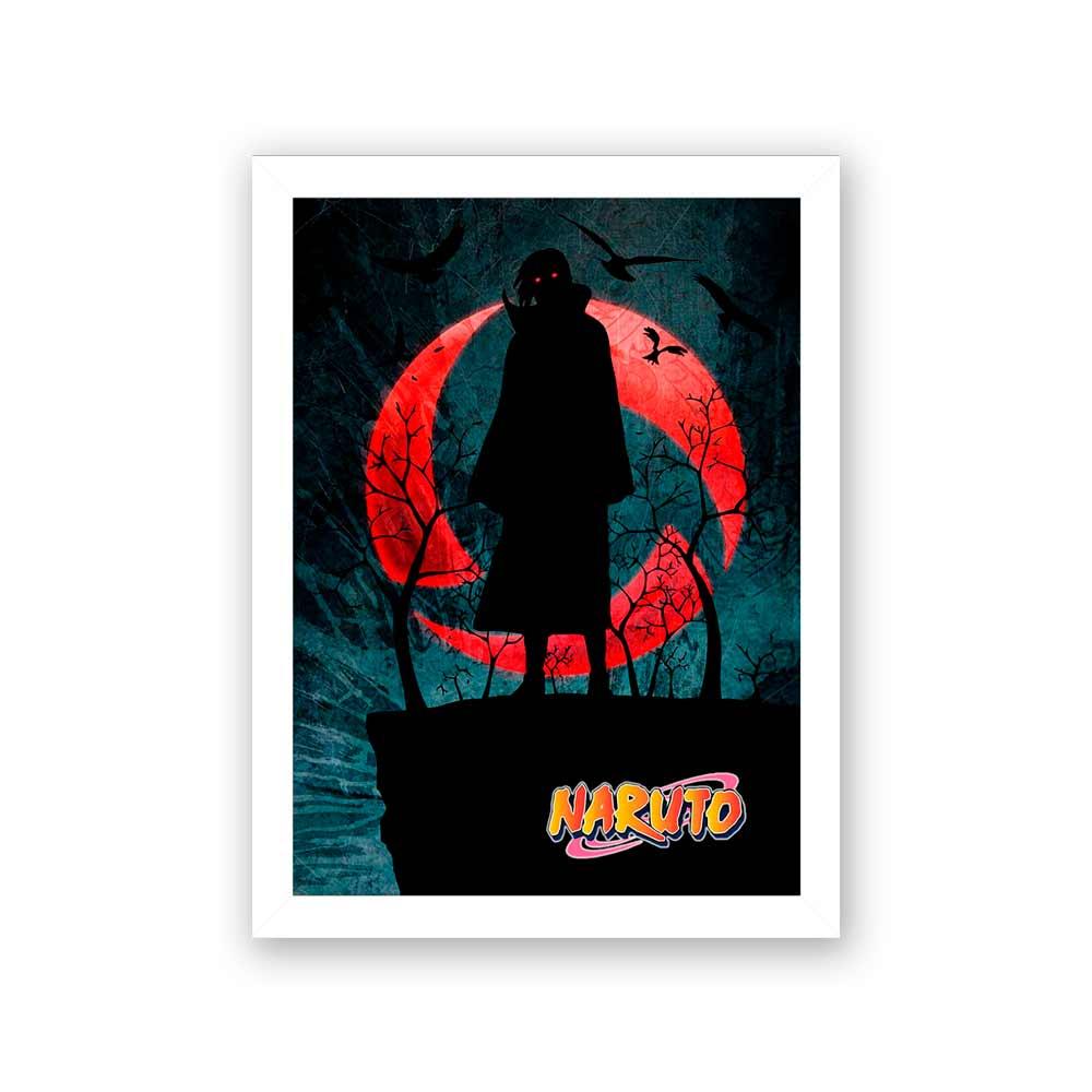Quadro Decorativo 27x36  Naruto Noturno