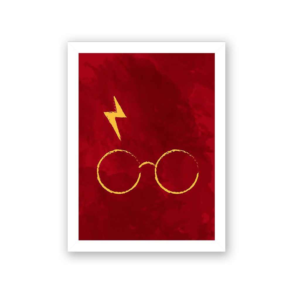 Quadro Decorativo 27X36 Óculor Harry Potter