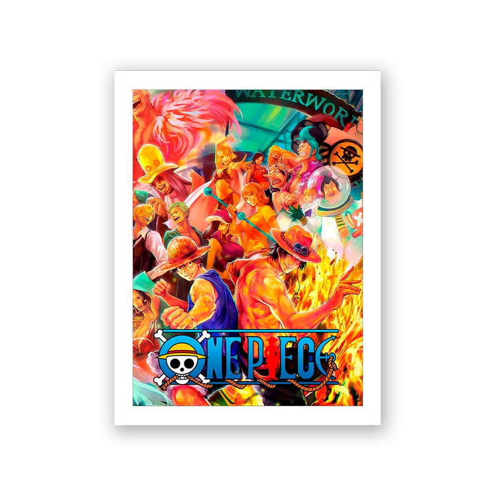 Quadro Decorativo 27x36 One Piece