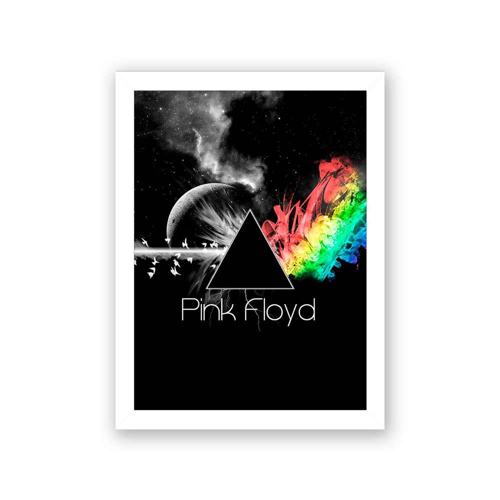 Quadro Decorativo 27x36 Pink Floyd