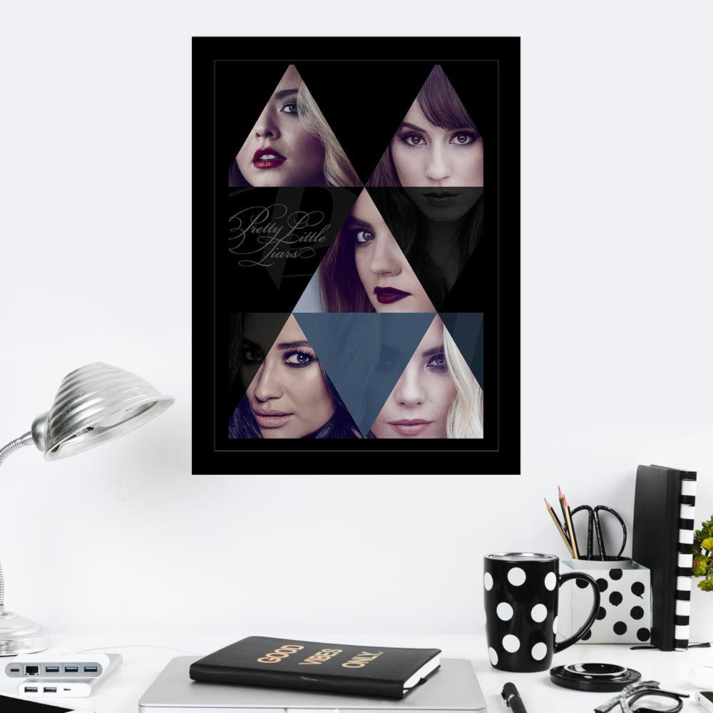 Quadro Decorativo 27x36 Pretty Little Liars-2