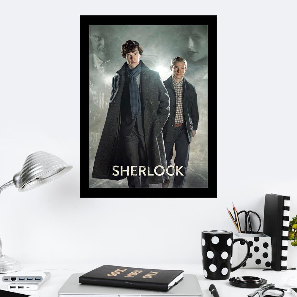 Quadro Decorativo 27x36 Série Sherlock -1