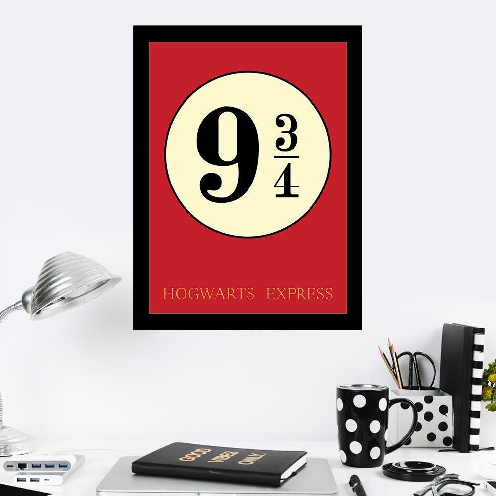 Quadro Decorativo 27X36 Star Wars 9 3/4