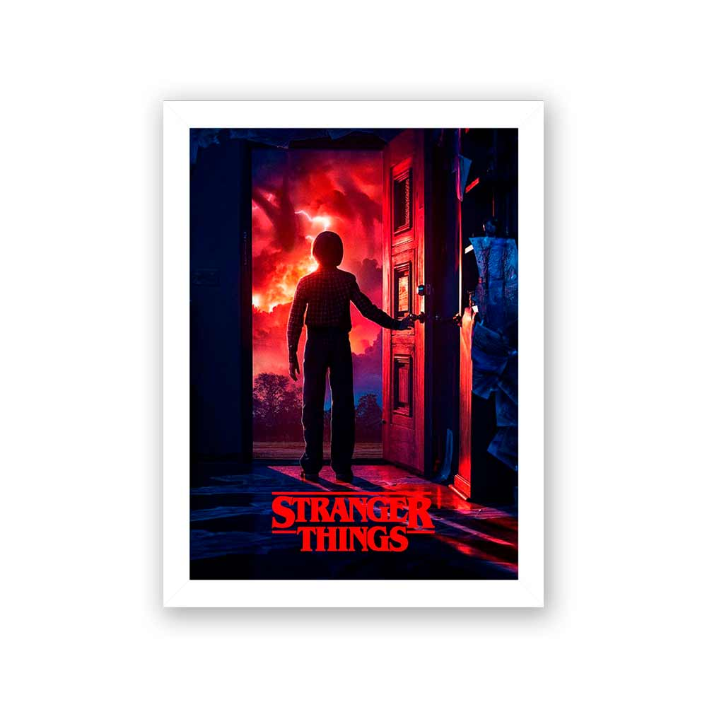 Quadro Decorativo 27x36 Stranger Things 3