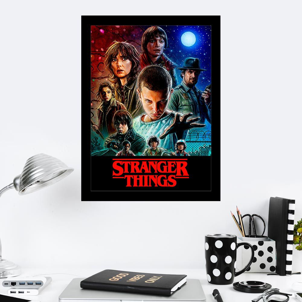 Quadro Decorativo 27x36 Stranger Things IV
