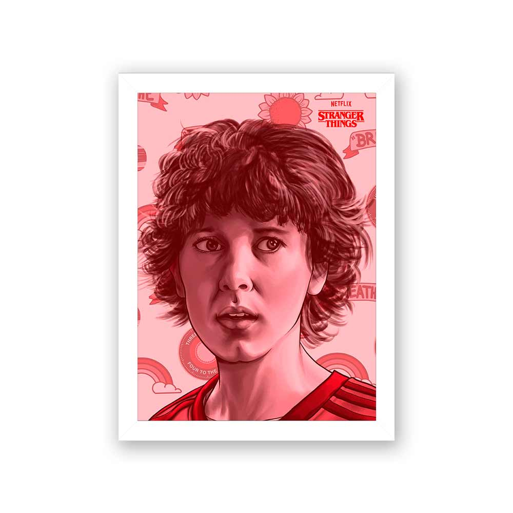 Quadro Decorativo 27x36 Stranger Things Personagem