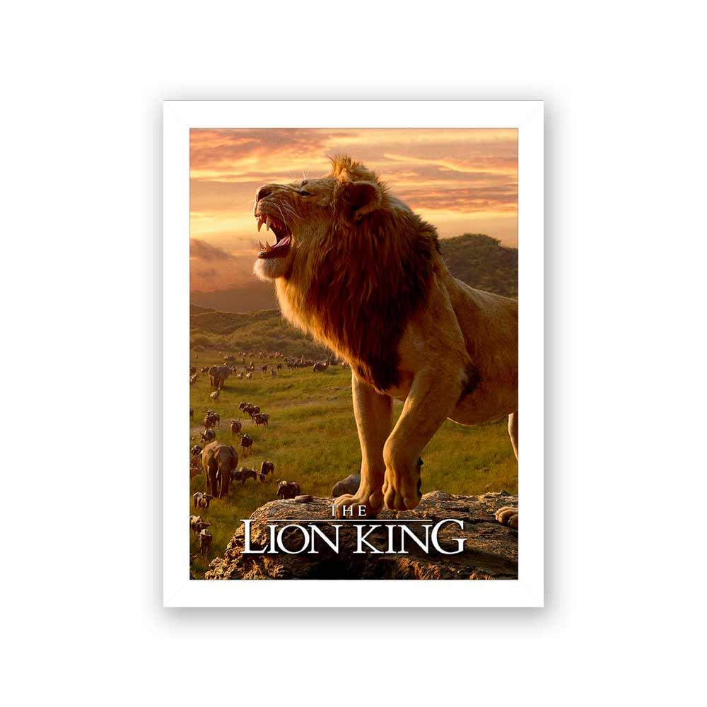 Quadro Decorativo 27X36 The Lion King