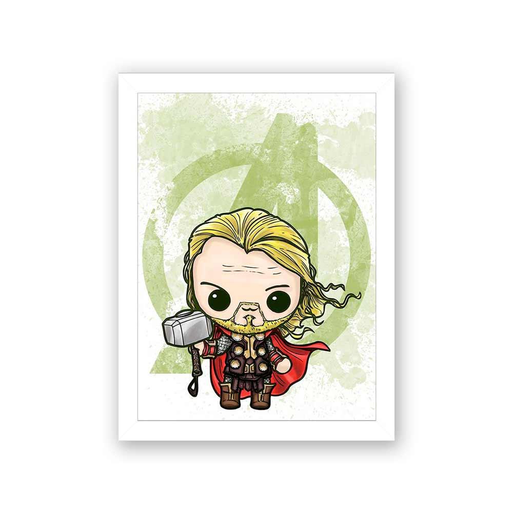 Quadro Decorativo 27X36 Thor Art