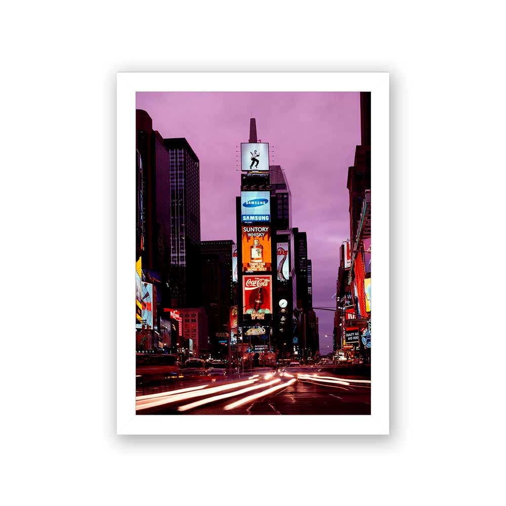 Quadro Decorativo 27x36 Times Square NY