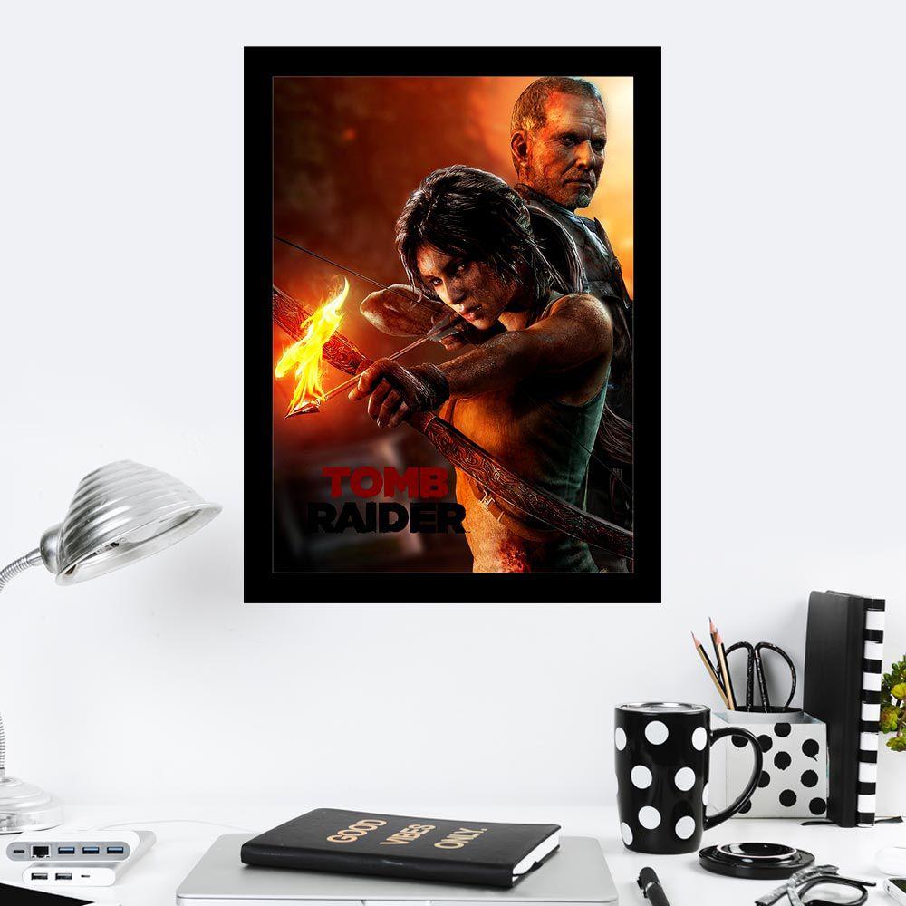 Quadro Decorativo 27x36 Tomb Raider