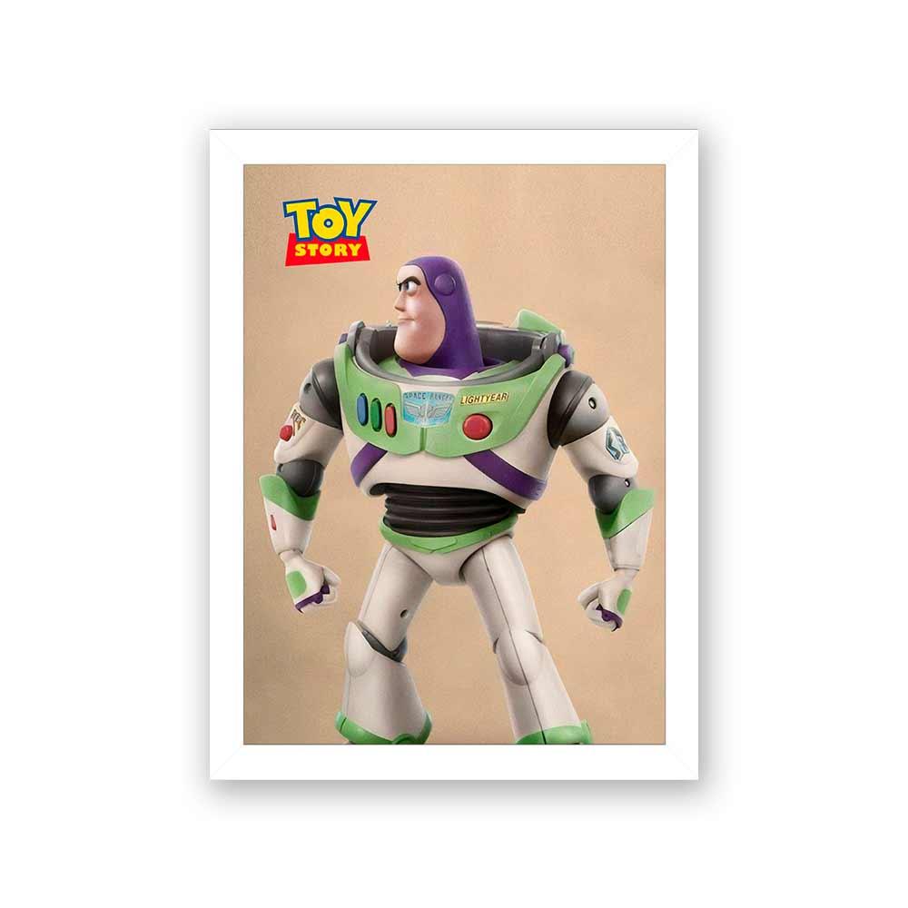 Quadro Decorativo 27X36 Toy Story Buzz