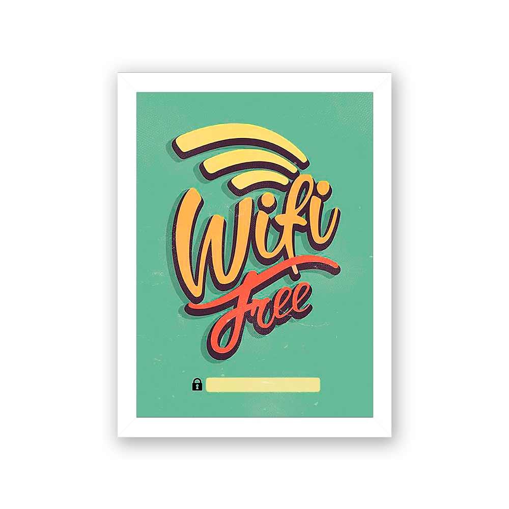 Quadro Decorativo 27x36 WiFi Free