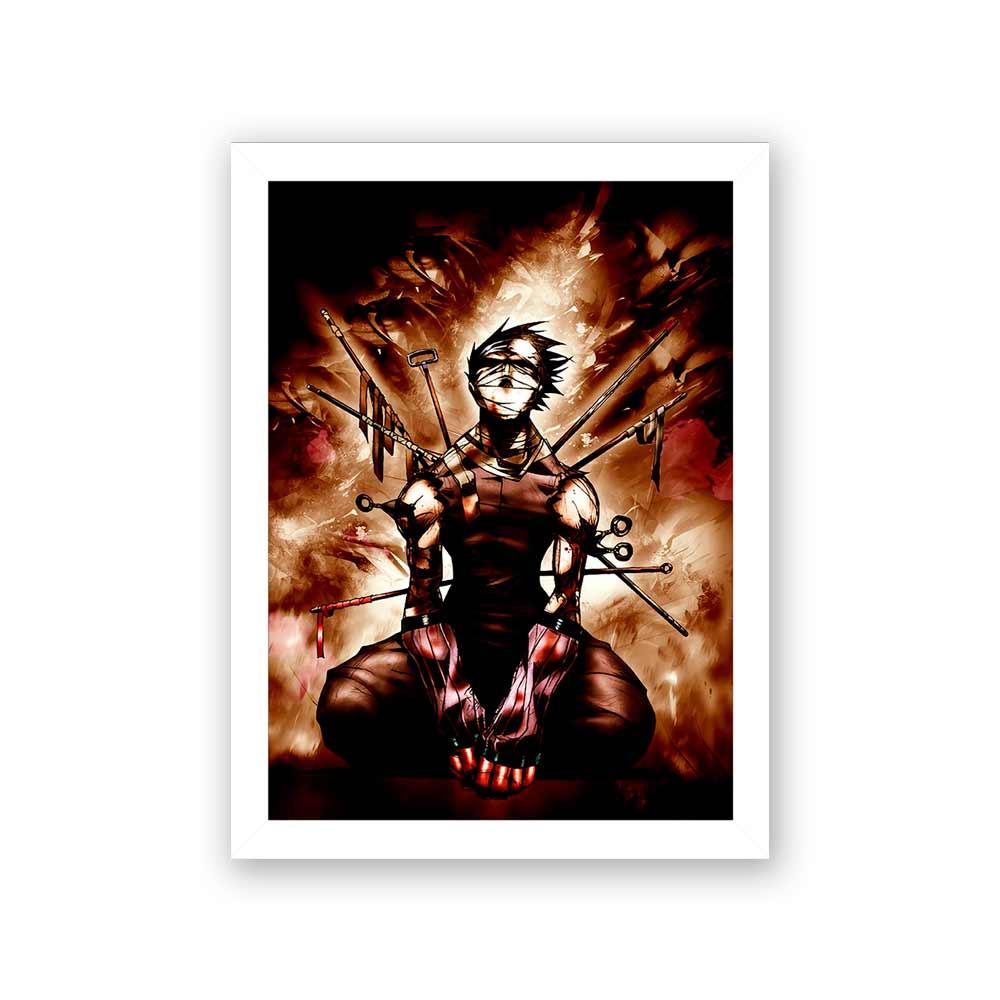 Quadro Decorativo 27x36 Zabuza Momochi Naruto