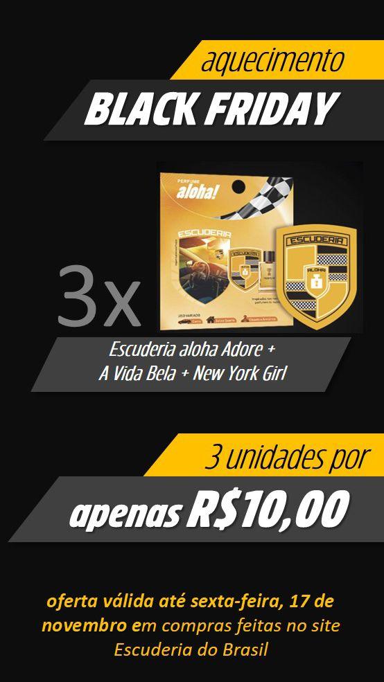 3 por R$10,00  - Escuderia do Brasil