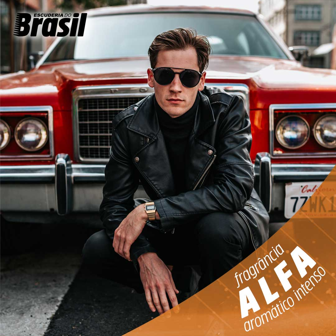 Alfa - Perfume Control  - Escuderia do Brasil
