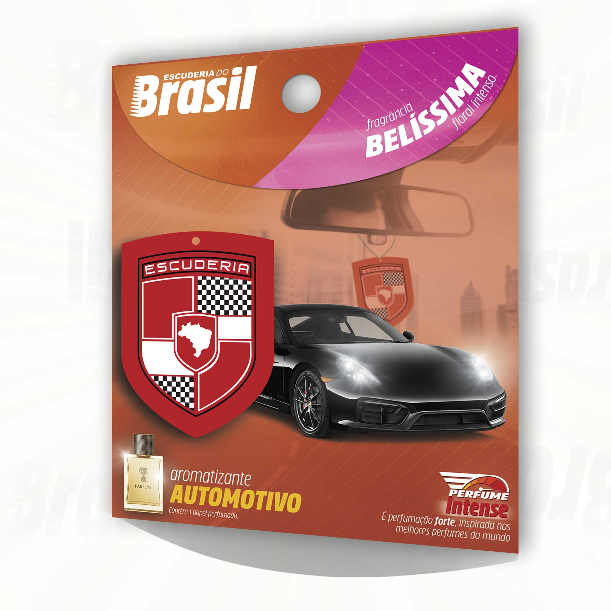Belíssima - Perfume Control  - Escuderia do Brasil