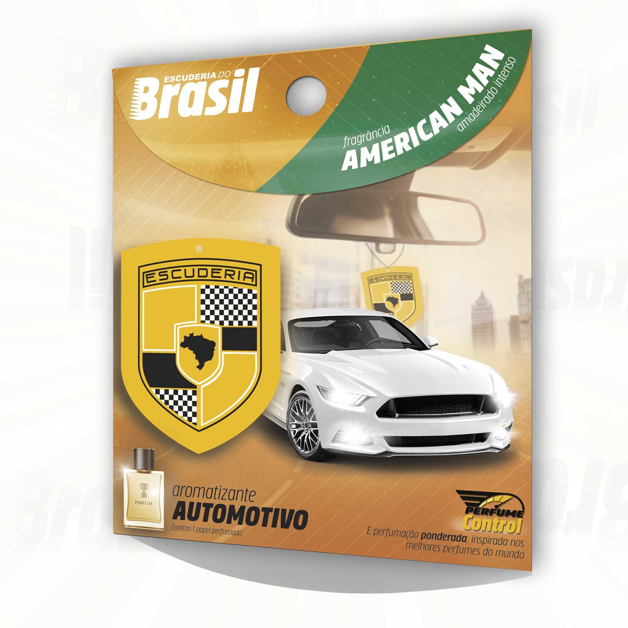 Combo American Man PC 10 unidades  - Escuderia do Brasil