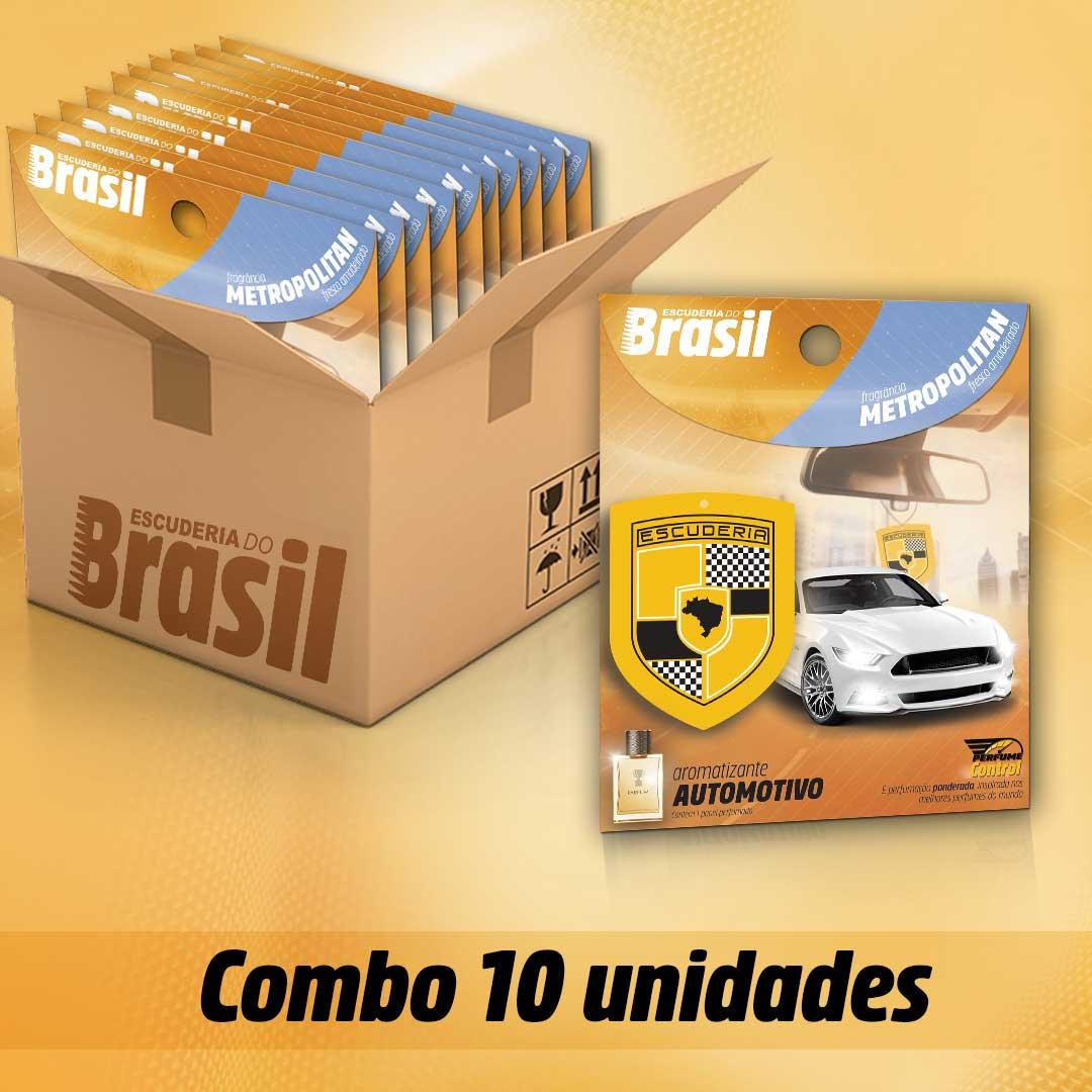 COMBO Metropolitan PC 10 unidades  - Escuderia do Brasil