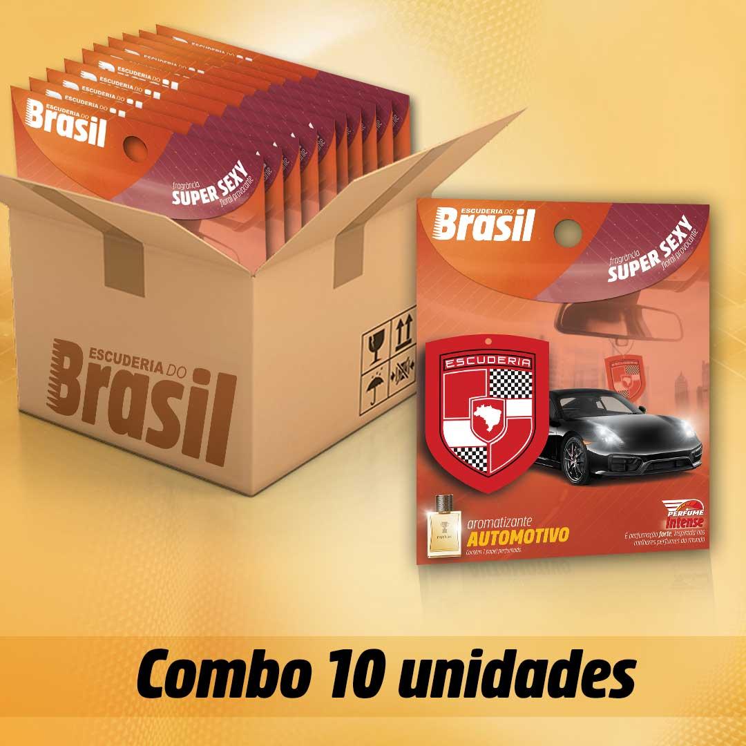 Combo Super Sexy PI 10 unidades  - Escuderia do Brasil