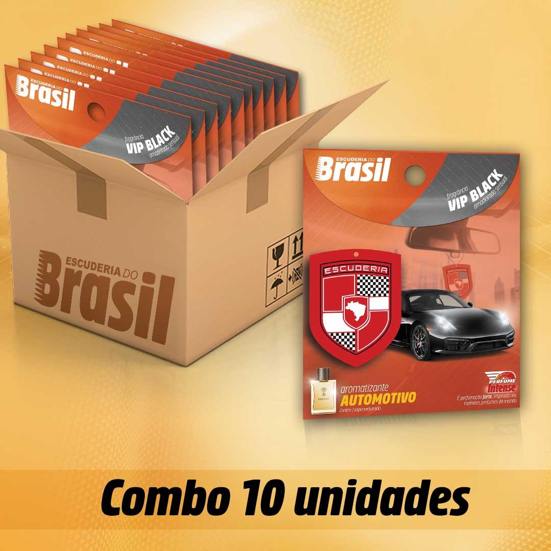 Combo VIP Black PI 10 unidades  - Escuderia do Brasil