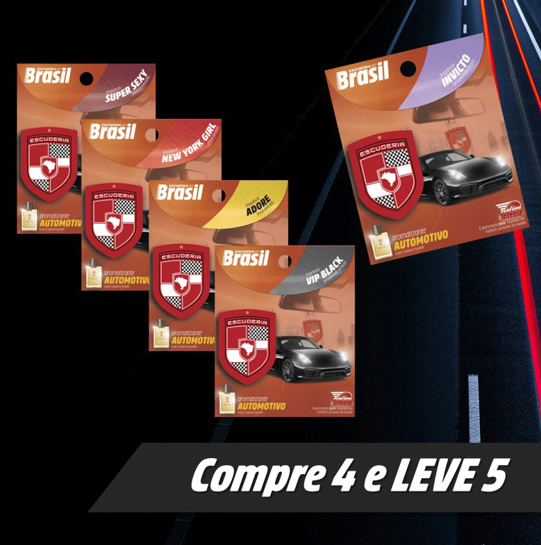 Compre 4 & Leve 5  - Escuderia do Brasil