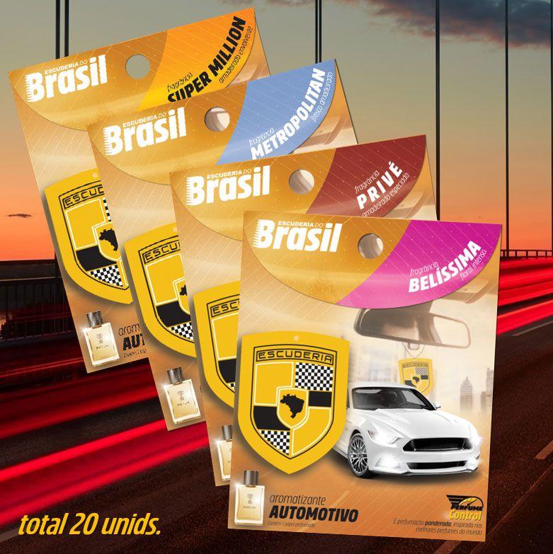 kit POWER  20 unidades - Escuderia Perfume Control  - Escuderia do Brasil