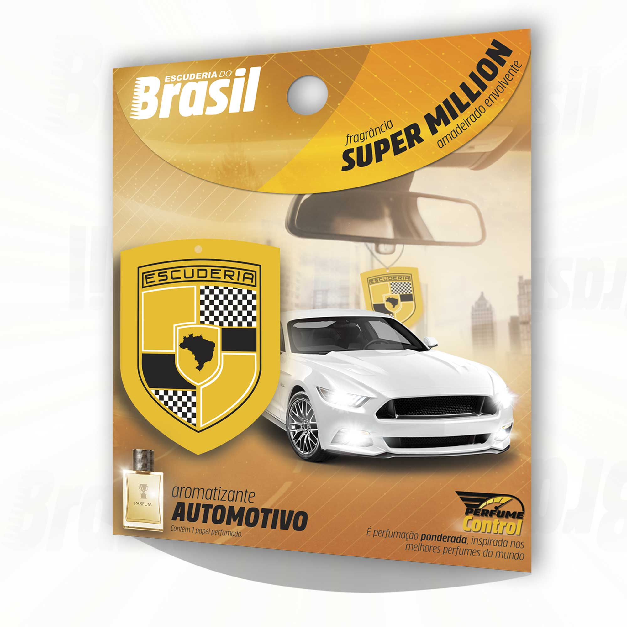 KIT Premium Detailer - 20 unidades - versões Control & Intense  - Escuderia do Brasil