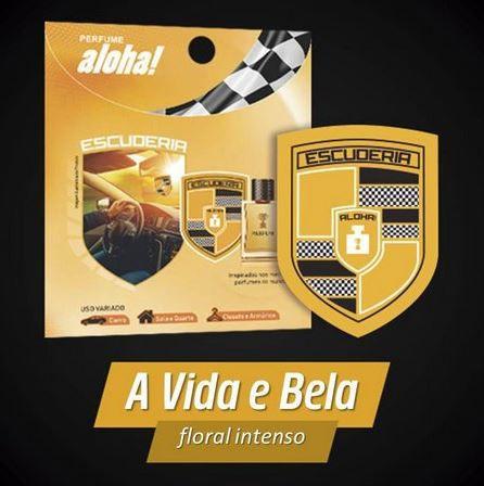 Perfume aloha Escuderia A VIDA É BELA  - Escuderia do Brasil