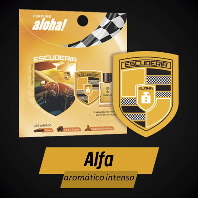 Perfume aloha Escuderia ALFA  - Escuderia do Brasil