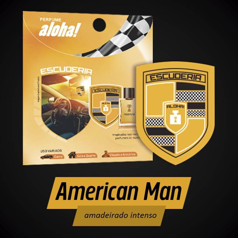 Perfume aloha Escuderia AMERICAN MAN  - Escuderia do Brasil