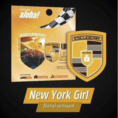Perfume aloha Escuderia NEW YORK GIRL  - Escuderia do Brasil