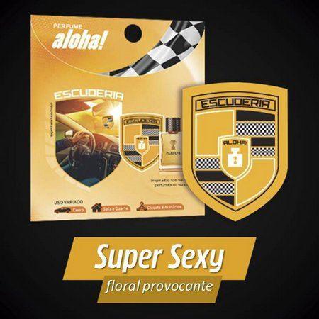Perfume aloha Escuderia SUPER SEXY  - Escuderia do Brasil
