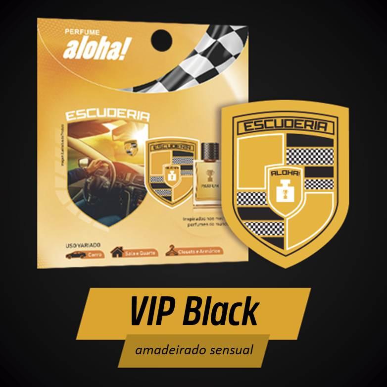Perfume aloha Escuderia VIP Black  - Escuderia do Brasil