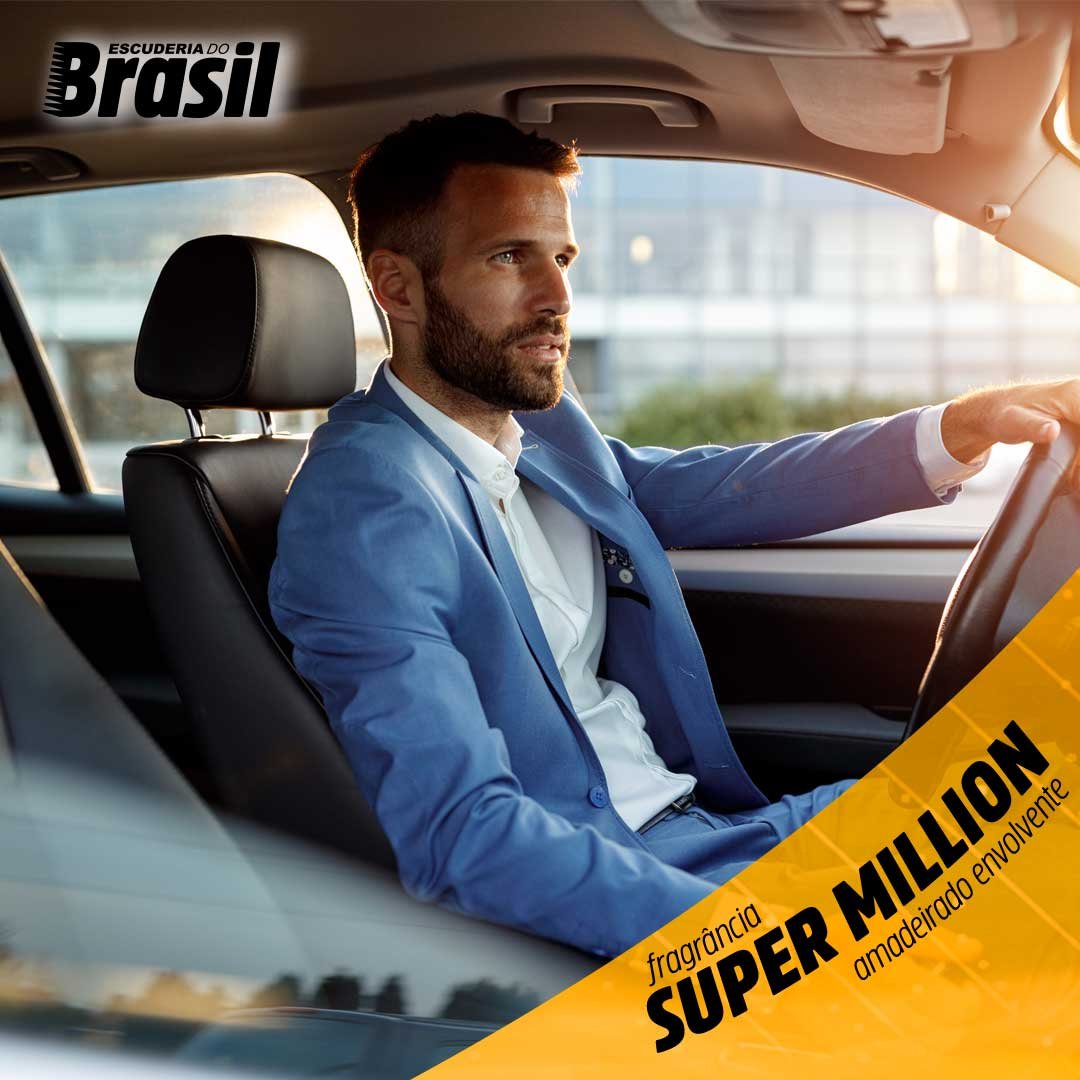 Super Million - Perfume Control  - Escuderia do Brasil