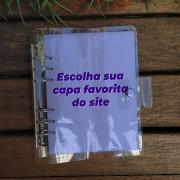 Fichário - Escolha sua capa favorita do site