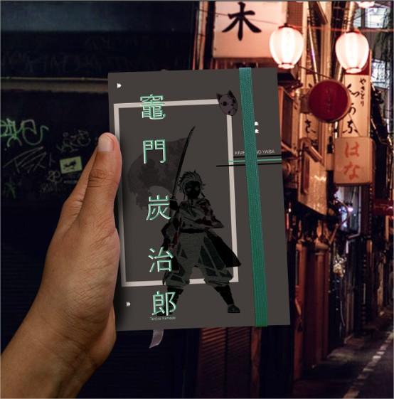 Anime -  Demon Slayer- Tanjiro Kamado  - Lojinha Só Dasoh