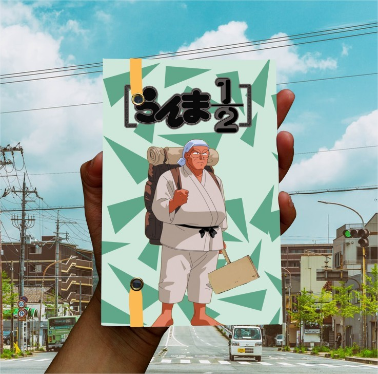 Anime - Panda Genma - Ranma 1/2  - Lojinha Só Dasoh