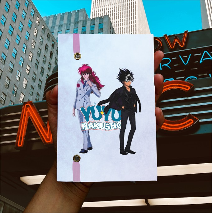 Anime -  Yu Yu Hakusho - Kurama & Hiei  - Lojinha Só Dasoh