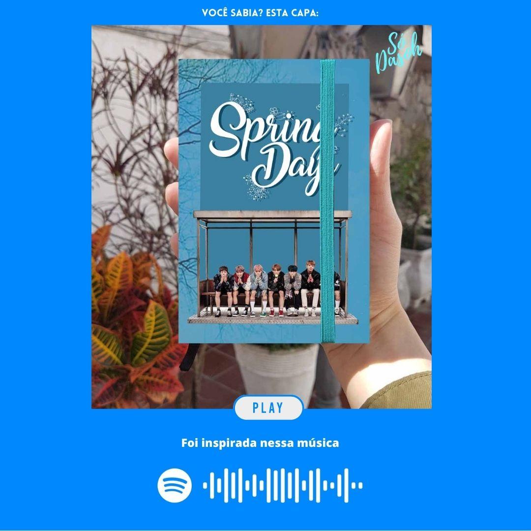 Bts - Spring Days (Projeto Fanbase)  - Lojinha Só Dasoh