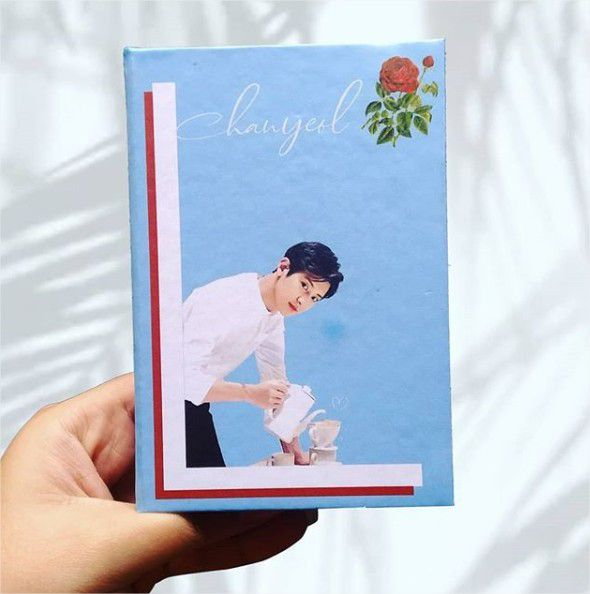 Chanyeol (EXO) - Rosas  - Lojinha Só Dasoh