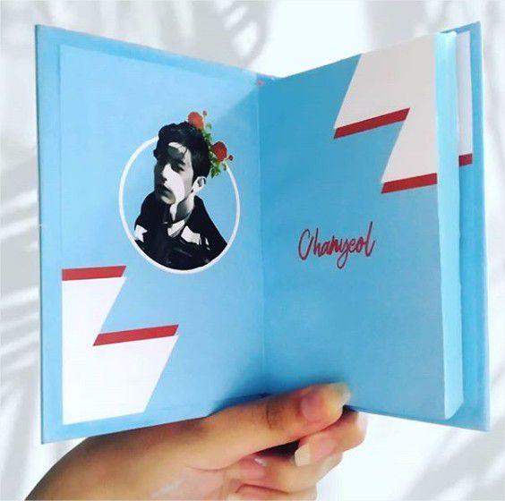 Chanyeol - Rosas  - Lojinha Só Dasoh