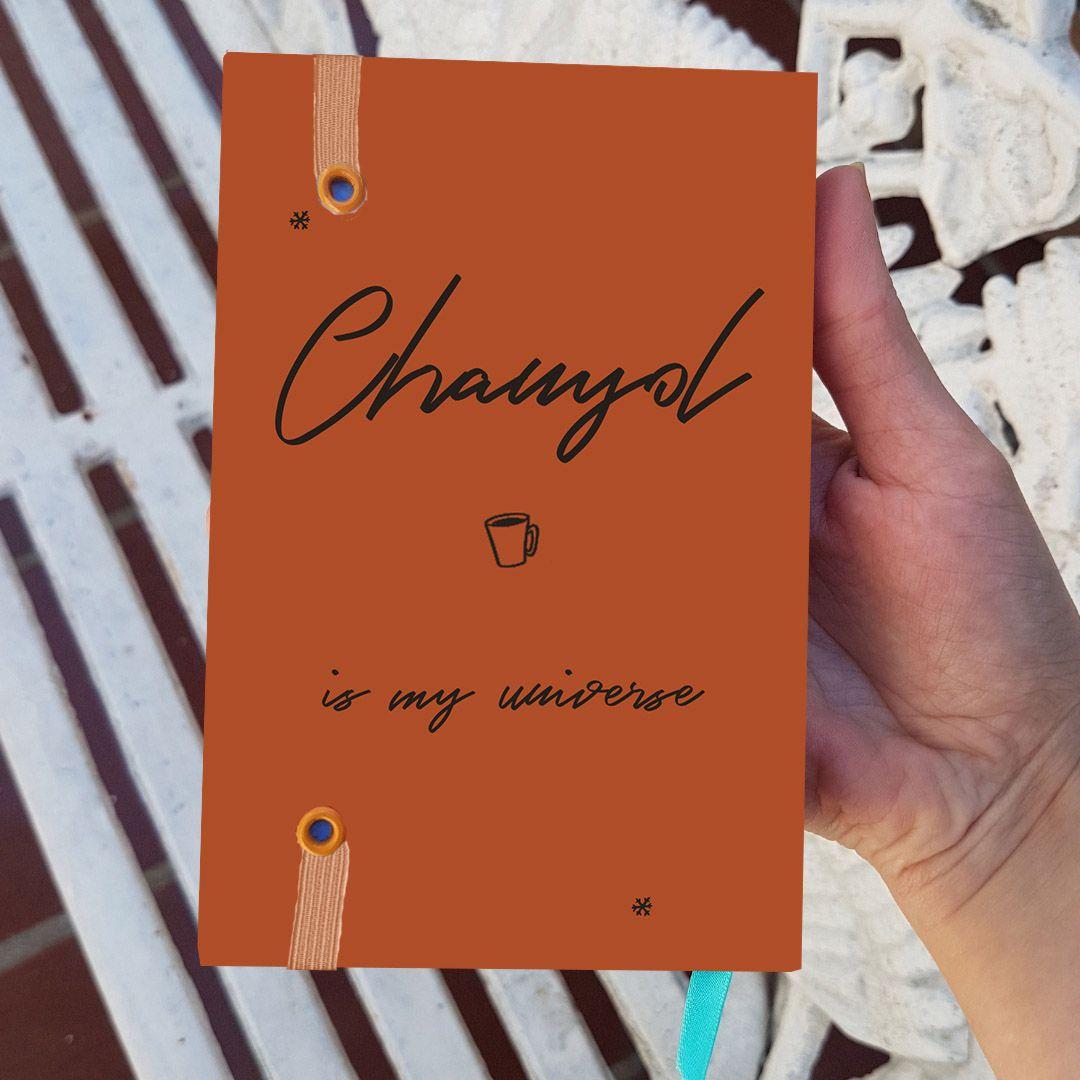Chanyeol - Orange Coffe (Exo)  - Lojinha Só Dasoh
