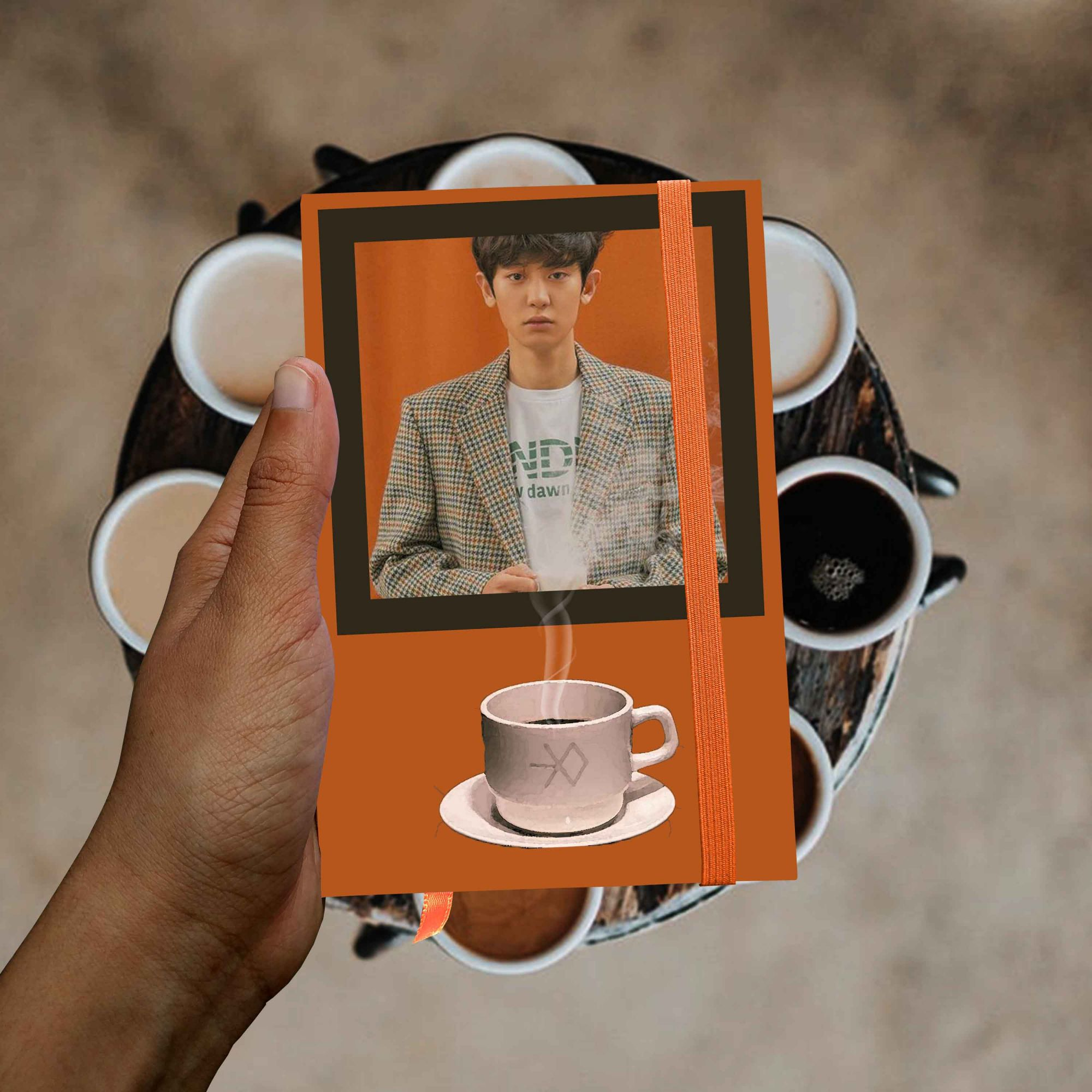 Chanyeol - Orange Coffe (Exo)  - Lojinha Só Dasoh
