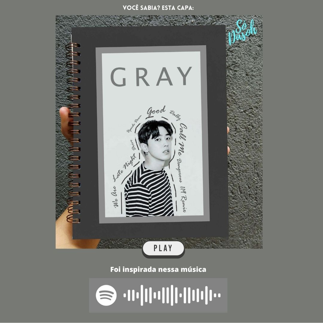 Gray - Gray  - Lojinha Só Dasoh
