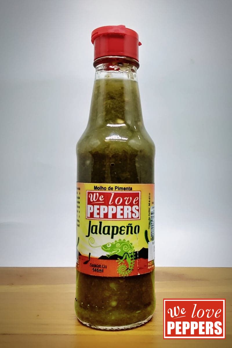Molho de Pimenta Jalapeño We Love Peppers 145ml