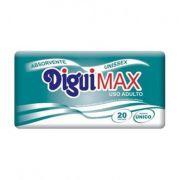 Absorvente DiguiMax unissex com 20 unidades