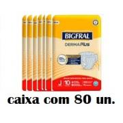 Bigfral plus Juvenil caixa com 80 unidades