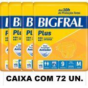 Bigfral plus Média caixa com 72 unidades