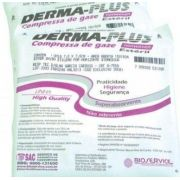 Compressa de gaze Non-Wonven Derma-Plus estéril com 10 unidades