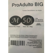 Fralda Geriátrica Pro adult big tam M com 50 unidades